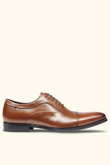 John White Guildhall Tan Oxford Shoe