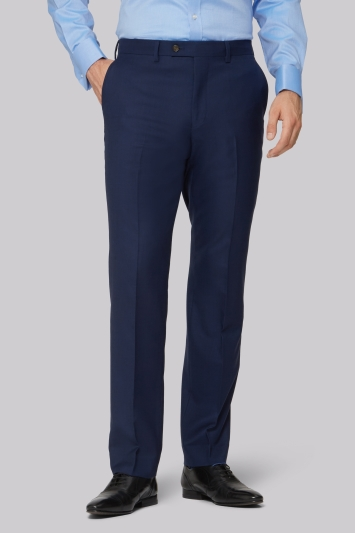 Ted Baker Gold Tailored Fit Navy Two Tone Trousers