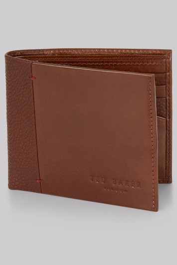 Ted Baker Tan Bifold Leather Wallet