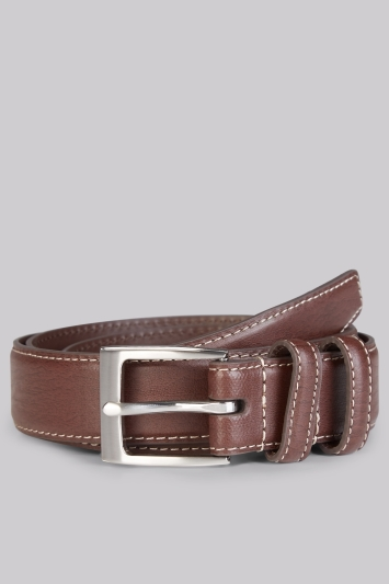 Moss 1851 Chocolate Casual Chino Belt