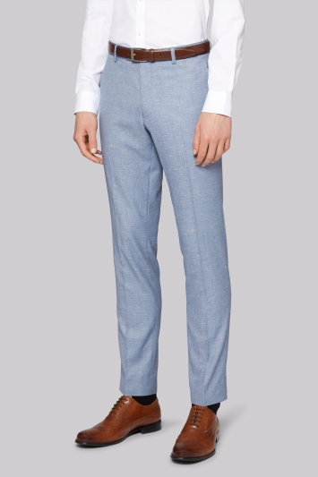 Moss London Slim Fit GBlue Scratch Trousers