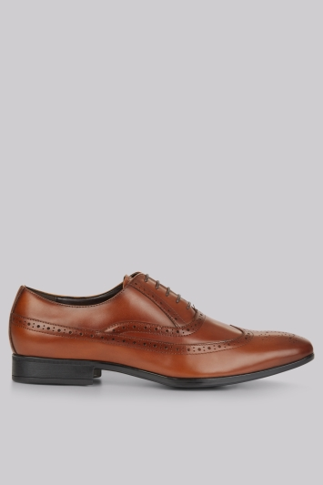 Moss 1851 Bosworth Brogue Tan