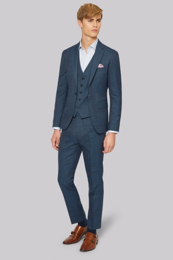 Men's Blue and Navy Suits | Shop Online At Moss Bros