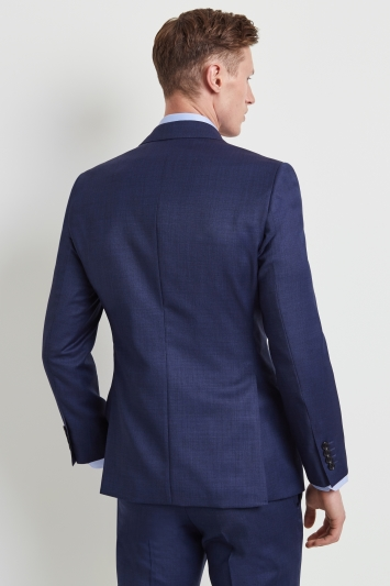 Moss 1851 Tailored Fit Bright Blue End on End Jacket