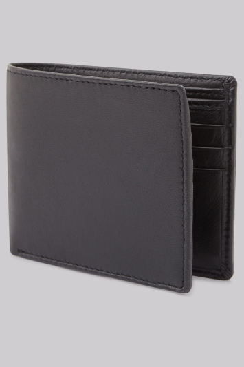 Moss 1851 Black Leather Wallet