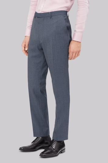 French Connection Slim Fit Airforce Texture Trouser