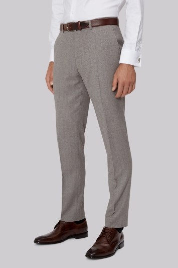French Connection Neutral Semi Plain Trouser
