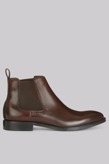 John White Admiral Brown Chelsea Boot