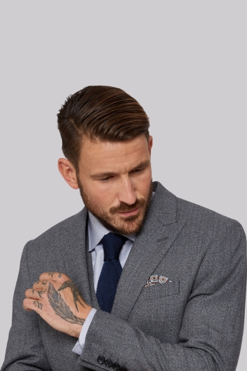 Learned Moss Bros Grey Checked Suit Men's Clothing Suits & Tailoring