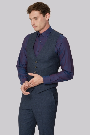 Ted Baker Tailored Fit Aiforce Flannel Waistcoat