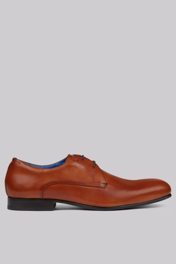 Ted Baker Bapoto Tan Leather Derby Shoe