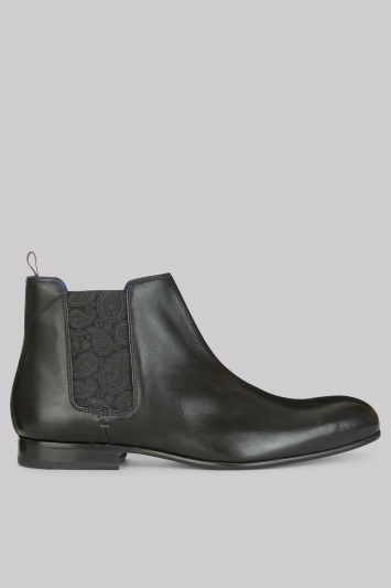 Ted Baker Kayto Black Leather Boot