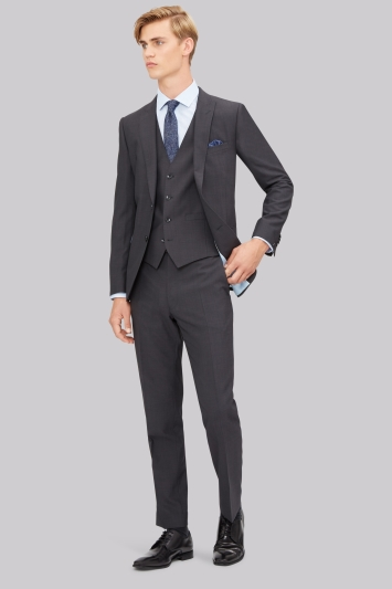 French Connection Slim Fit Charcoal Jacket