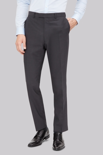 French Connection Slim Fit Charcoal Trousers