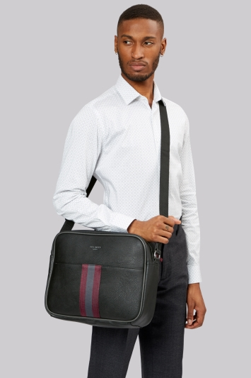 Ted Baker Black Despatch Bag