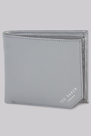 Ted Baker Charcoal Bifold Wallet