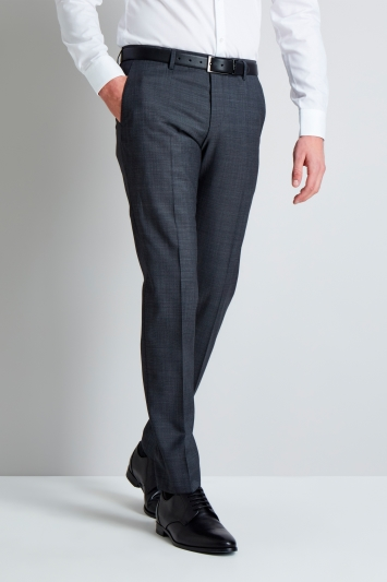 Grey Micro Design Mix and Match Trousers