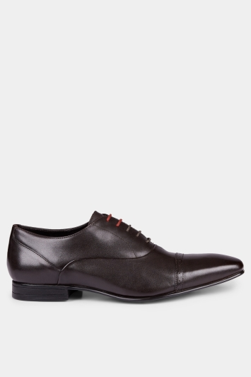 Moss London Camley Toe Cap Oxford Brogue Brown