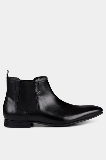 Moss London Albert Chelsea Boot Black