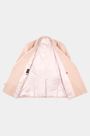 Moss London Skinny Fit Cappuccino Double Breasted Jacket