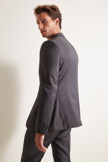 Ted Baker Tailored Fit Grey Pindot Jacket