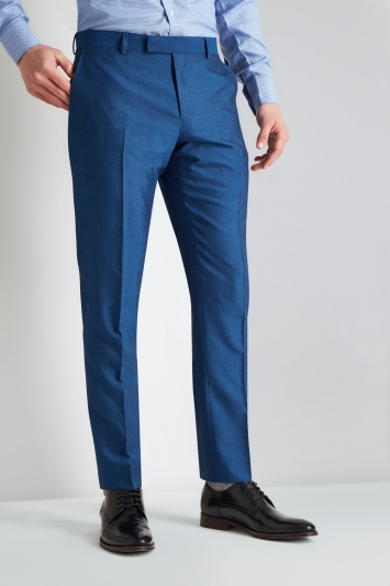 Moss 1851 Tailored Fit Peacock Trouser