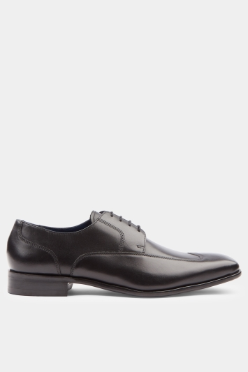 Men's George Black Wing Tip Derby