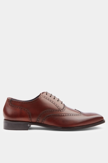 Moss 1851 Charles Red Wing Tip Brogue