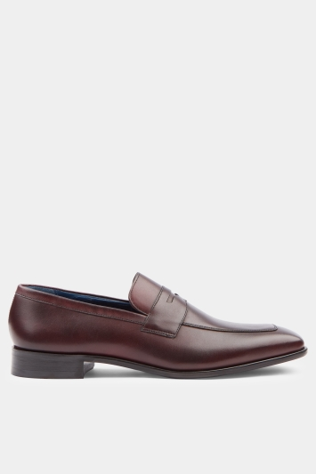 Moss 1851 Lewis Brown Saddle Slip On
