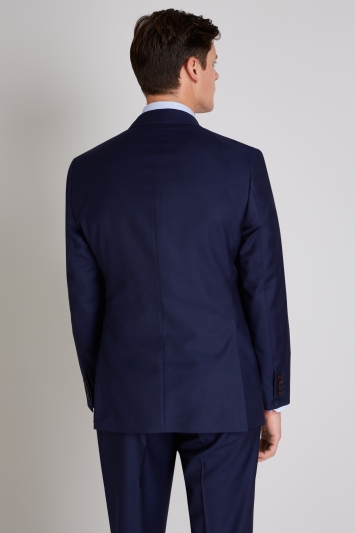 Ermenegildo Zegna Cloth Tailored Fit Naples Blue Jacket