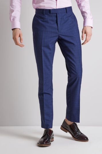 DKNY Slim Fit Ink Scratch Trousers