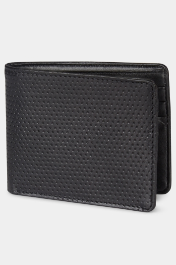 Moss London Black Boxed Wallet