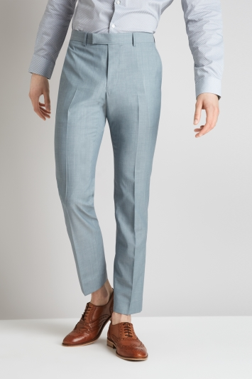 Moss London Skinny Fit Sage Trousers