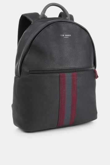Ted Baker Hawkz Webbing Backpack Black