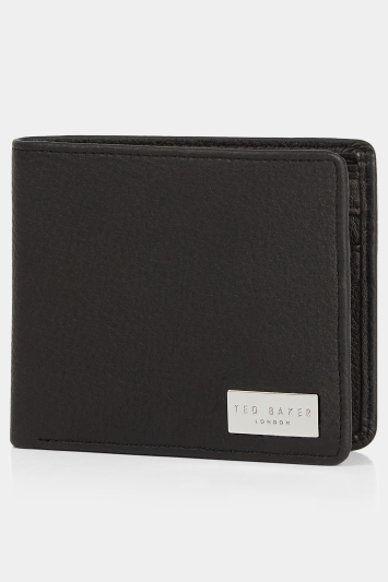Ted Baker Brooce Black Textured Wallet