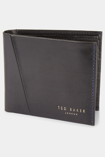 Ted Baker Twixxle Black Wallet & Holder