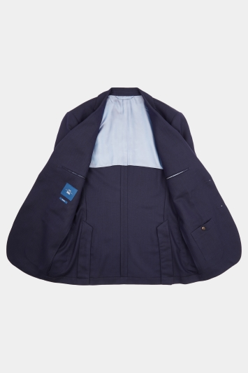 Moss 1851 Tailored Fit Navy Travel Blazer