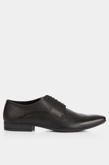Moss London Walton Smart Textured Derby Shoe