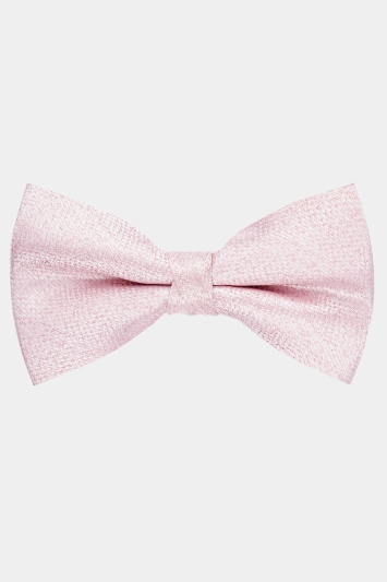 Moss 1851 Pink Texture Bow Tie