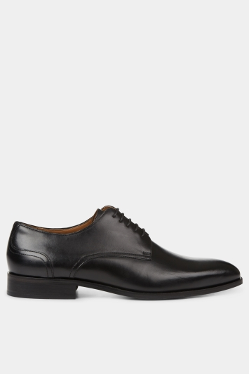 Hardy Amies Black Gibson Leather Shoe