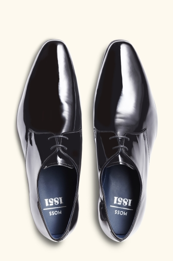 Moss 1851 Huxley Black Patent Dress Shoe