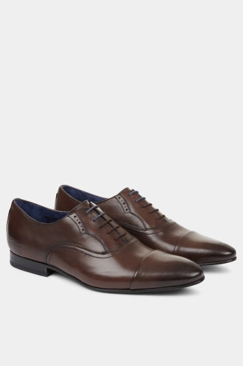 b4ad1eae24841e Ted Baker Murain Brown Oxford Shoe