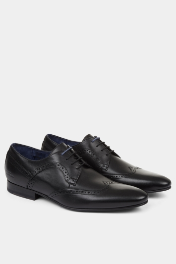 Ted Baker Ollivur Black Derby Shoe