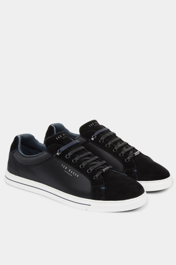 Ted Baker Eeril BlackTextile Cupsole Trainer