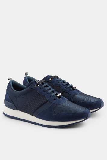 1090cafa7f9a0 Ted Baker Hebey Navy Trainer