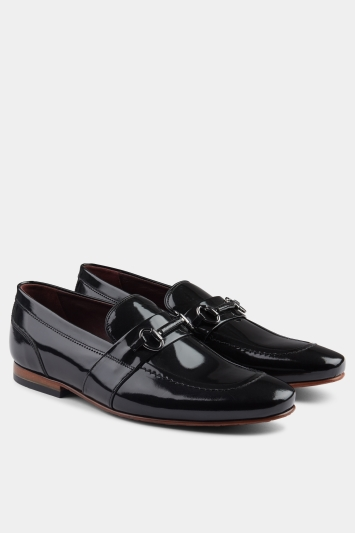 Ted Baker Paiser Black High Shine Loafer
