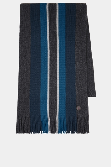 Ted Baker Kevern Charcoal Scarf