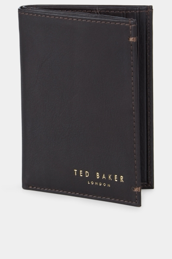 Ted Baker Zaks Dark Brown Cardholder