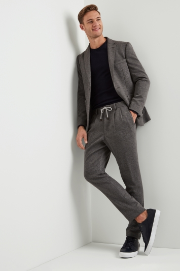 Moss London Skinny Fit Grey Slouch Jacket