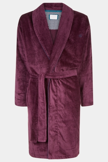 Ted Baker Dawlish Plum Dressing Gown